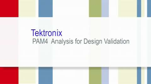 ECOC 2014 PAM4 Analysis for Design Validation