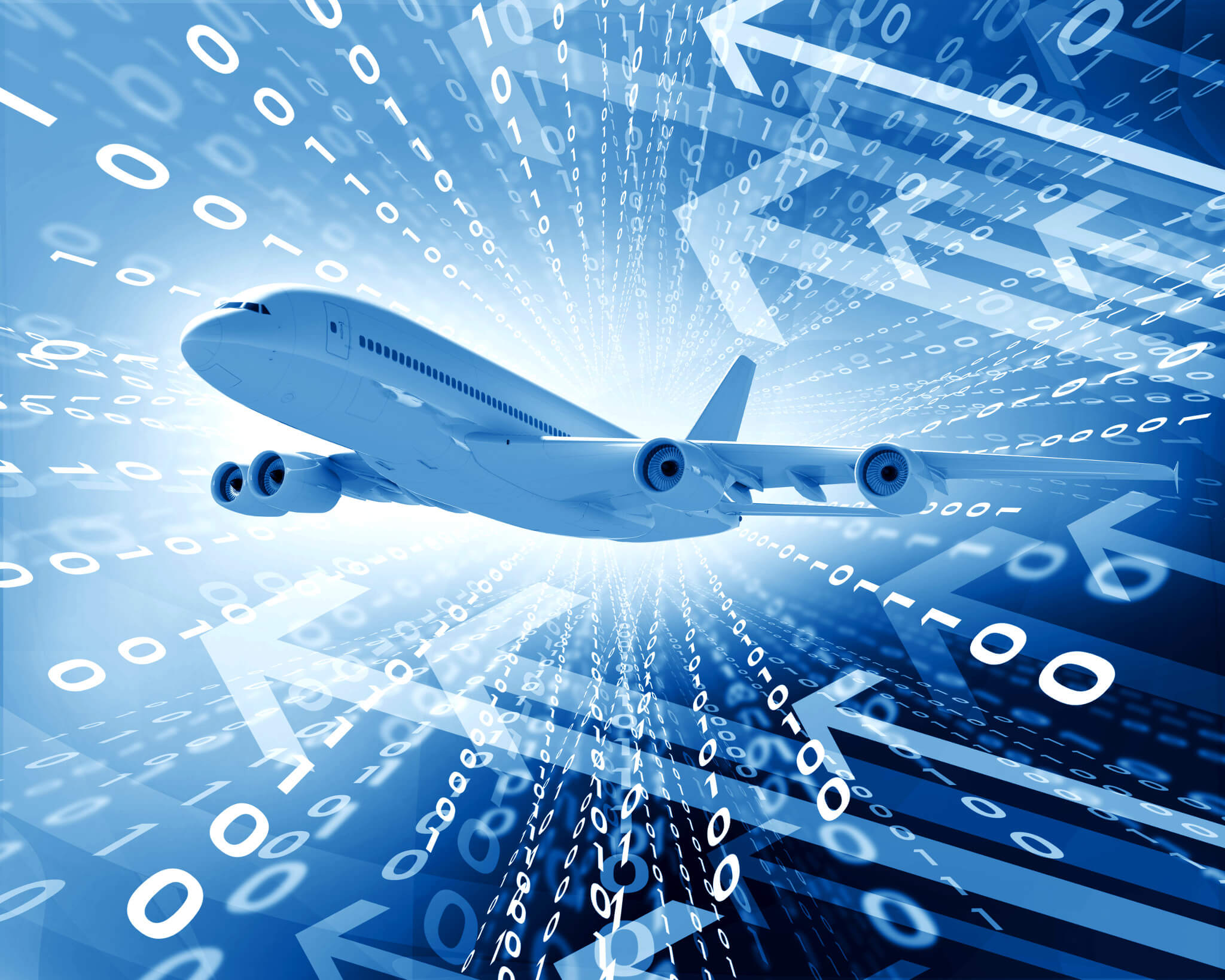 Airplanes generate massive amount of data.