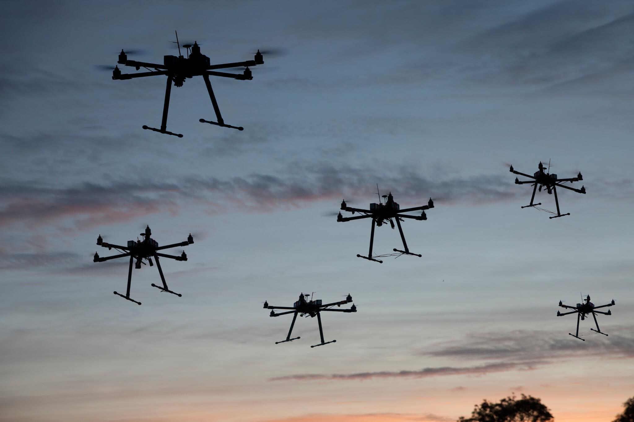 RF sensing of drones