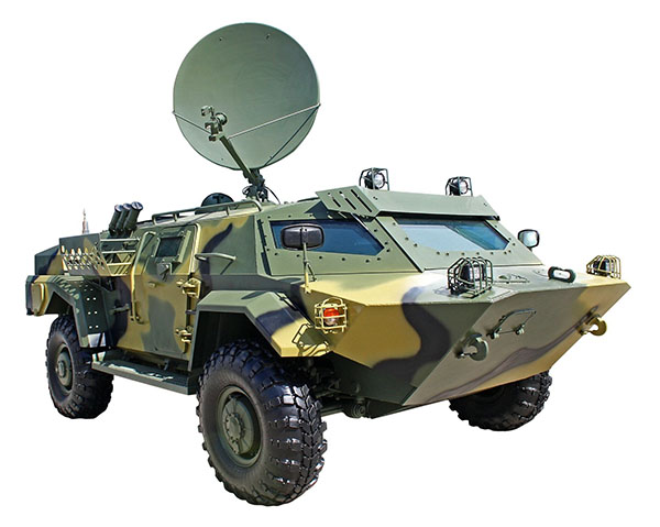 high performance mobile SATCOM platform