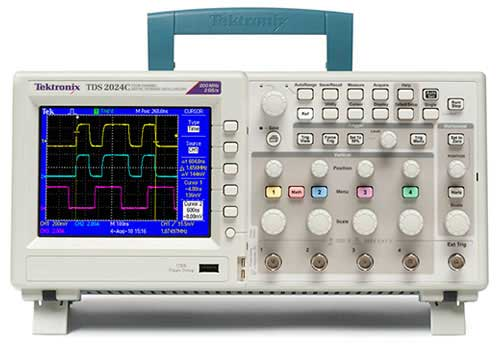 Digital Oscilloscope Pc : Tds c digital storage oscilloscope tektronix