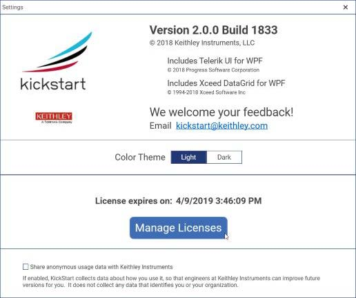 How to Install your free license file in KickStart   Tektronix