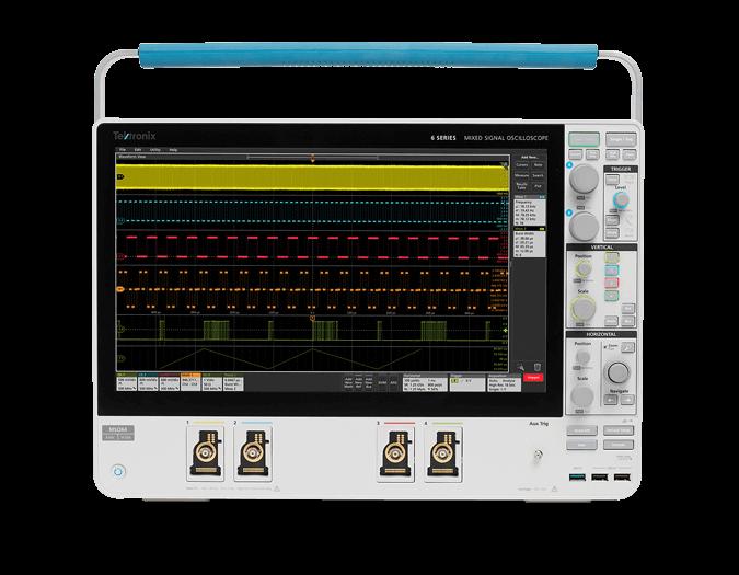 6 Series MSO Mixed Signal Oscilloscope