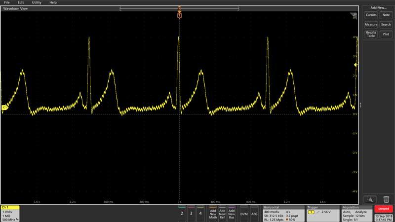 AFG31000シリーズ任意波形/ファンクション・ジェネレータによる波形の取込みと再生