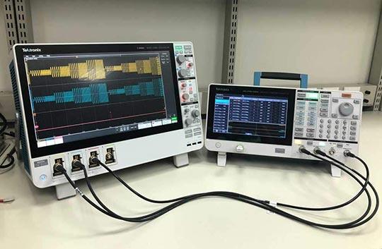 Проверка функций и определение рабочих характеристик устройств с помощью генератора произвольных функций AFG31000