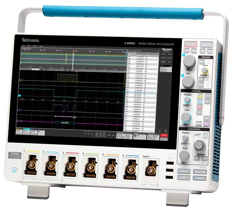 4 Series MSO Mixed Signal Oscilloscope