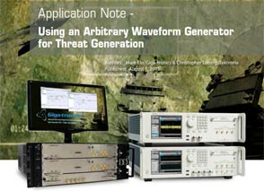 Using an Arbitrary Waveform Generator for Threat Generation