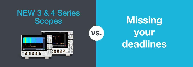 Tektronix 3 Series MDO and 4 Series MSO Touch Screen Oscilloscopes