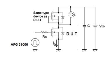 Double pulse test circuit