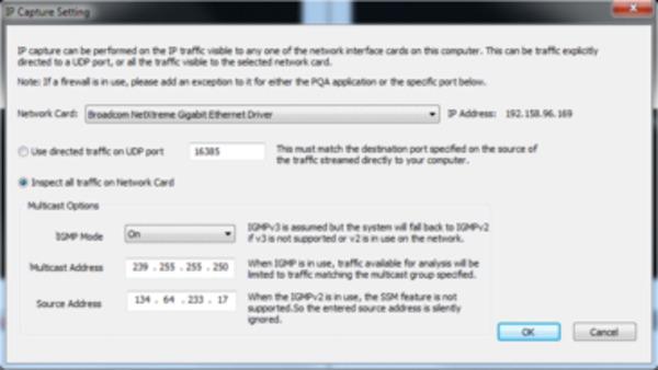 PQA600B Picture Quality Analyzer Datasheet - PQA600B