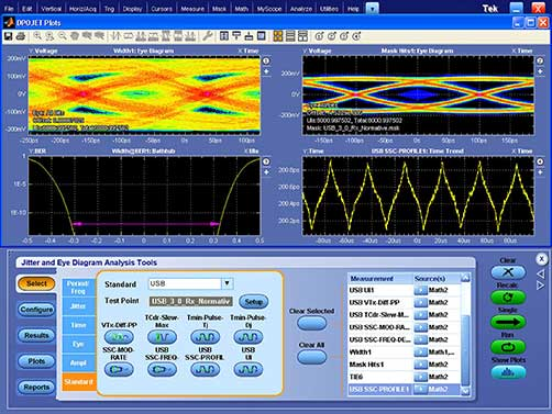 eye diagram for ethernet mso dpo70000 mixed signal oscilloscopes tektronix